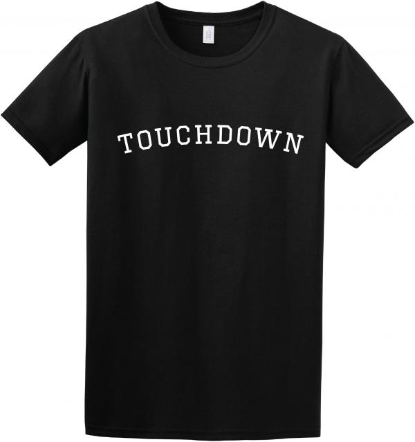 touchdown t shirt, touchdown, gridiron strong,